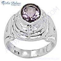 Amazing Amethyst 925 Silver Ring