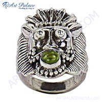 Hot Sale Silver Ring With Peridot