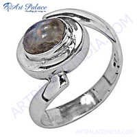 Newest Product Silver Sterling Ring With Raimbow