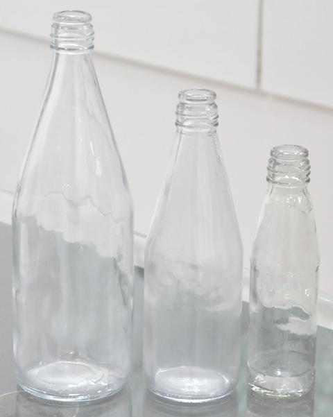 Food & Beverages Glass Bottles