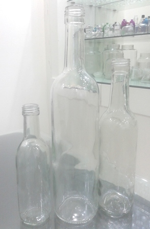 Empty Liquor Bottles