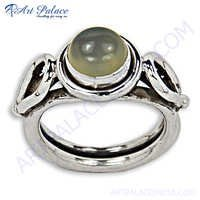 Attrective Moonstone  Gemstone Silver Ring