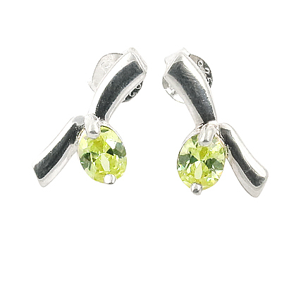 New Arrival 925 Sterling Silver Jewelry With CZ  Earrings