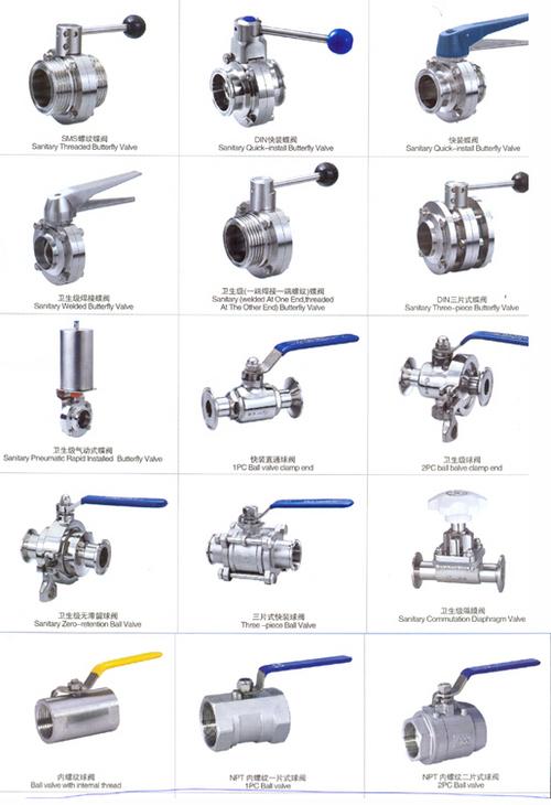 dairy valves