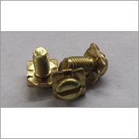 Brass Slotted Pan Head Square Washer Sem Screw
