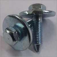 8.8 Grade Hex Bolt With Plain Washer Zinc Plated