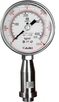 Homogenizer Pressure Gauges
