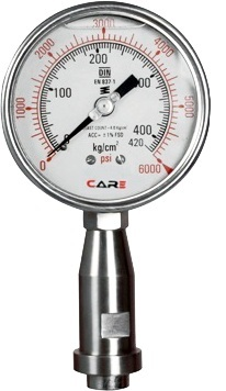 Homogenizer Pressure Gauges