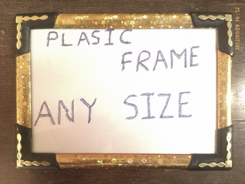 PVC Assemble Photo Frame