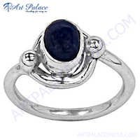 Romantic Lapis Silver Ring