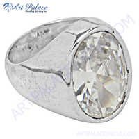 Rocking Style Crystal Ring