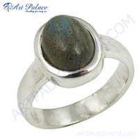 Hot  Labradorite  Silver Ring