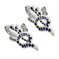 Classic Iolite Sterling Silver Gemstone Earring
