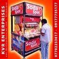 Stand Model Soda Machine