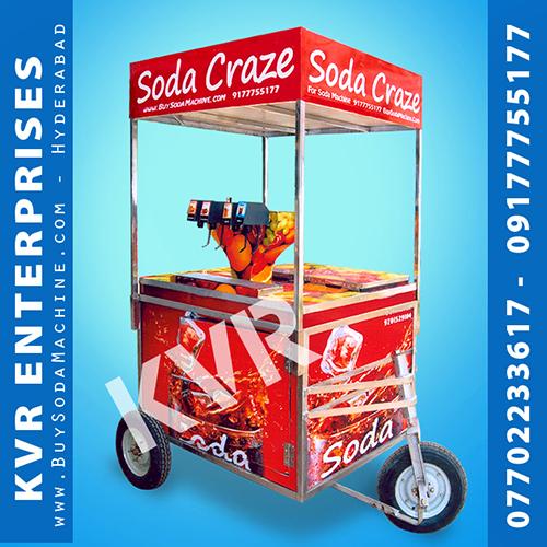 Cart Model Soda Machine