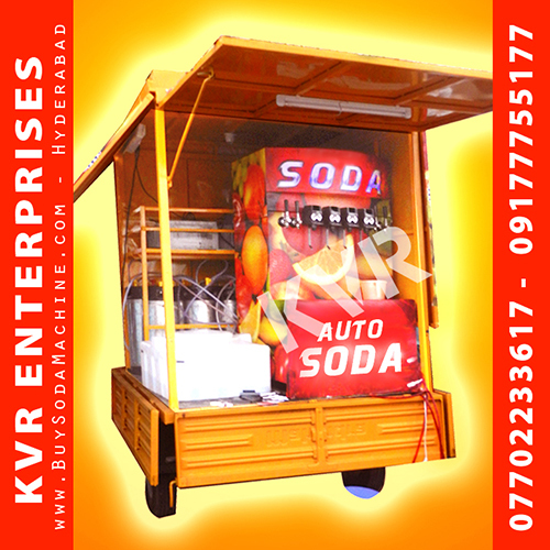 Auto Model Soda Machine