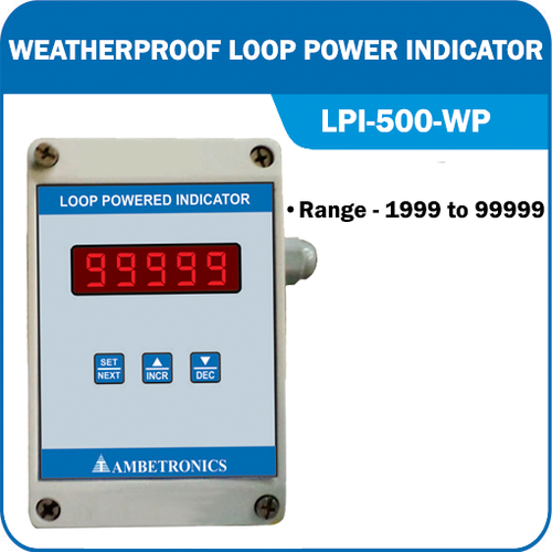 Weatherproof Loop Power Indicator (LPI-500 WP)