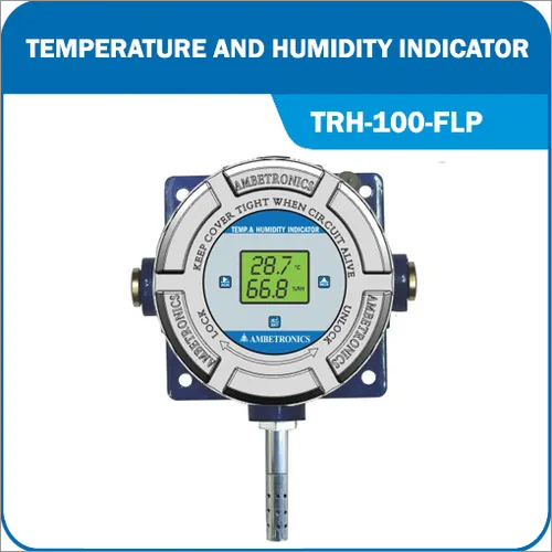 Temperature And Humidity Indicator (Battery operated)