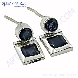 Antique Earring Silver Jewellery Fashion Silver Jewellery With Amethyst