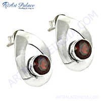 Excellent New Fashion Silver Gemstone Earrings