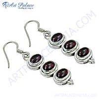 Quality Pearl Silver Earrings