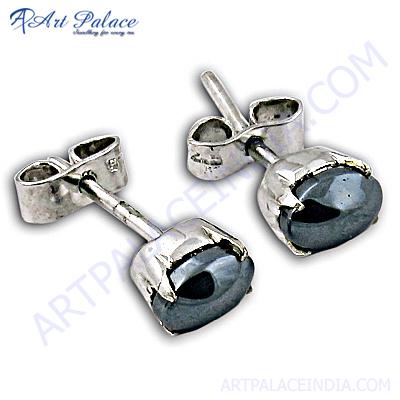 Hot Sales Newest Gun Metal Earrings With Stud Earring
