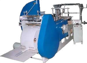Flat Bottom Paper Bag Making Machine