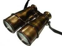 Antique Rust Look Brass Binocular