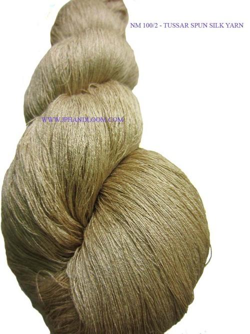 Tussar Spun Silk Yarn