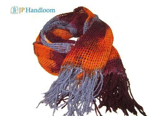 Mulberry Net Tye-Dye Scarf