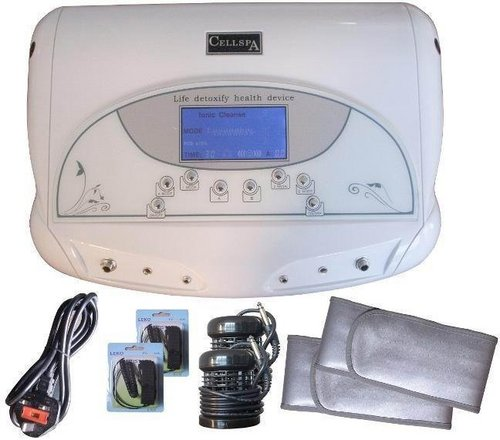DUAL DETOX SPA WITH SINGLE LCD SCREEN AND STOMACH BELT