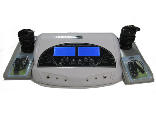 LCD MODEL DUAL DETOX SPA WITH STOMACH BELT AND WRIST BELT