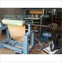 Paper Roll Slitting Rewinding Machine
