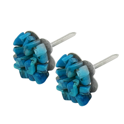 Fashion Jewelry American Style Turquoise Beads Earrings