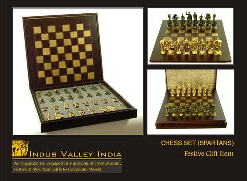 Chess Set (Spartans)