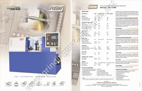 CNC Cylindrical Machinery