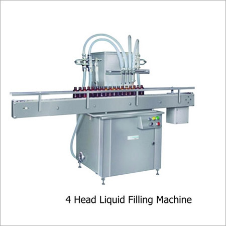 4 Head Liquid Filling Machine