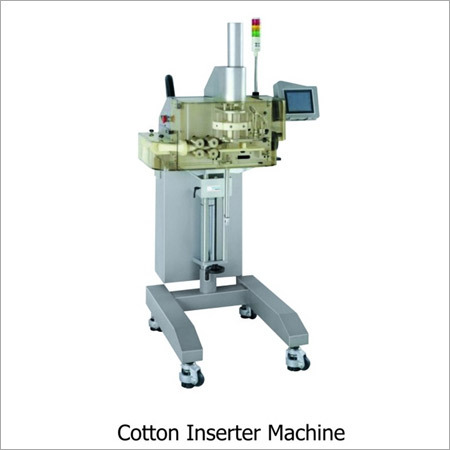 Cotton Inserter Machine