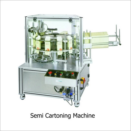 Semi Automatic Cartoning Machine