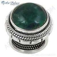Newest Style Fashionable Apatite Sterling Silver Gemstone Ring