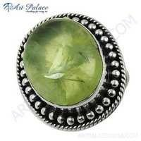 Antique Style Fashionable Prenite Gemstone