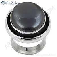 Newest Black Onyx Sterling Silver Gemstone Ring