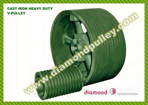 Cast Iron V-belt Pulley - Heavy Type