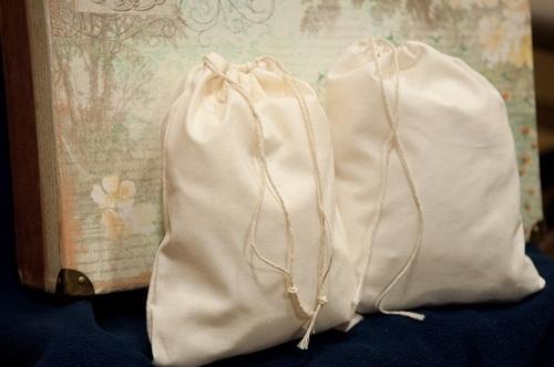 Cotton Muslin Bags