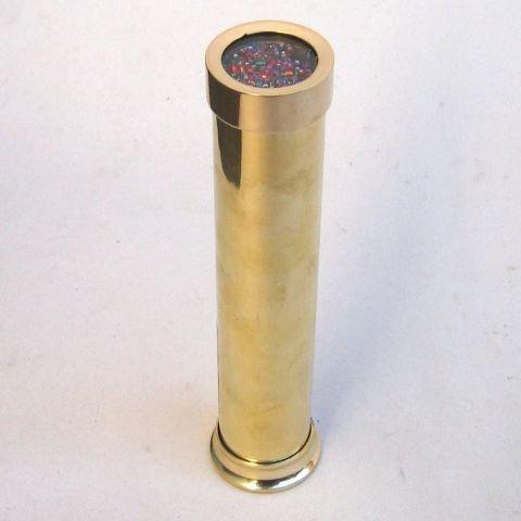 Brass Kaleidoscope 6.75