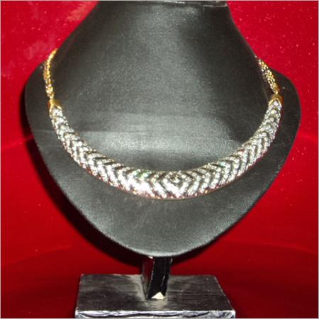 Designer American Diamond Necklace Set