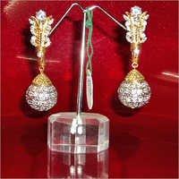 American Diamond Fancy Earring