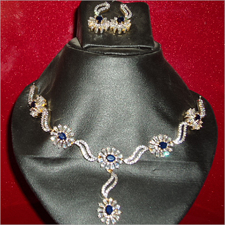 Fancy American Diamond Necklace