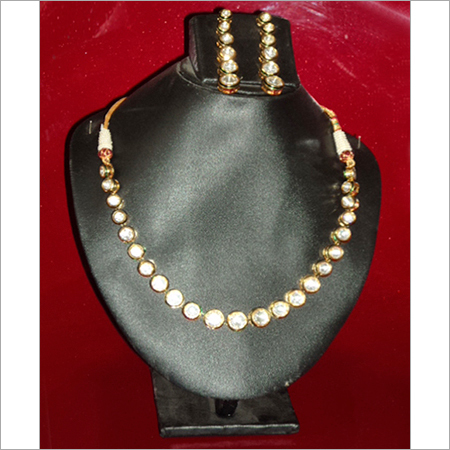 American Diamond Gold Necklace Sets