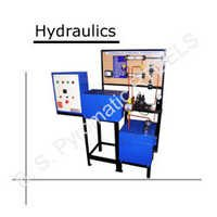 hydraulic demo trainer with lc - bspil-hml-20014